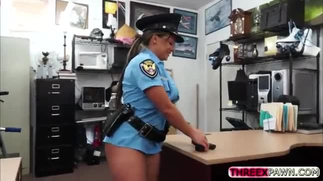 Pawn shop police and big tits police orgy i will catch any perp with a